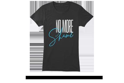 Purchase No More Shame apparel
